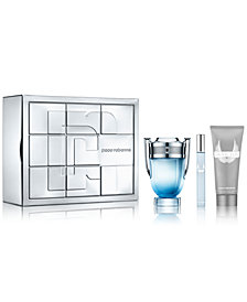 Paco Rabanne Men's 3-Pc. Invictus Aqua Gift Set
