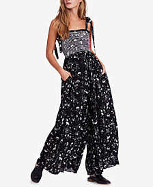 Free People Color My World Wide-Leg Jumpsuit
