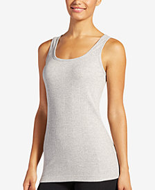 Jockey Elance Stretch Ribbed Tank 1413, Created for Macy's
