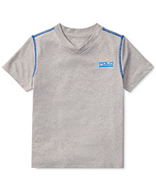 Polo Ralph Lauren V-Neck T-Shirt, Toddler Boys