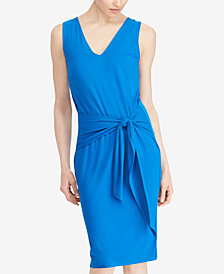 Lauren Ralph Lauren Tie-Front Dress