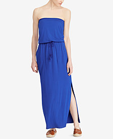 Lauren Ralph Lauren Stretch Strapless Maxidress