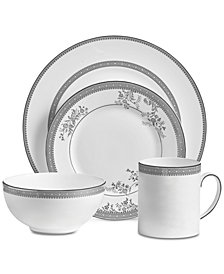 Vera Wang Wedgwood Dinnerware, Lace 4-Pc. Place Setting