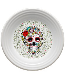 Skull and Vine Sugar Lunch Plate