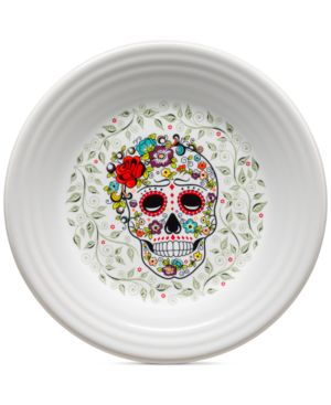 Fiesta Skull and Vina Lunch Plate