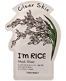 I'm Rice Sheet Mask - (Clear Skin)