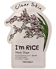 TONYMOLY I'm Rice Sheet Mask - (Clear Skin)