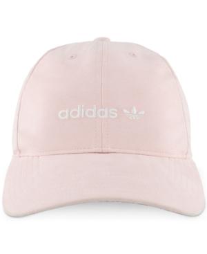 Adidas Originals Adidas Women S Originals Cotton Relaxed Cap In Baby Pink 06cff10e1a1