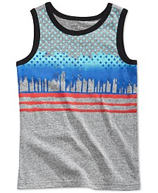 Epic Threads Graphic-Print Tank Top, Little Boys, Created for Macy's