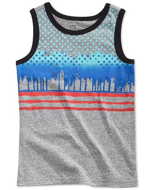 Epic Threads Graphic-Print Tank Top, Toddler Boys, Created for Macy's