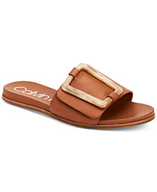 Calvin Klein Women's Patreece Flat Sandals