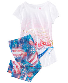 Epic Threads Graphic-Print T-Shirt & Capri Leggings, Big Girls, Created for Macy's