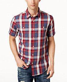 American Rag Men's Taylor Plaid Shirt, Created for Macy's