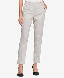 DKNY Textured Skinny Pants, Created for Macy's