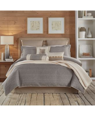 Update Your Bedroom Decor With The Stylish Berin Bedding Collection From  Croscill, Featuring A Relaxed Neutral Ground And Decorative Stitching For  Added ...