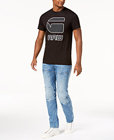 GET THE LOOK: G-Star Logo T-Shirt + Slim Fit Jeans+ Logo Socks + Converse Chuck Taylors + Ray-Ban Sunglasses