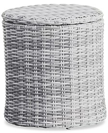 Elle Decor Vallauris Outdoor Side Table, Quick Ship
