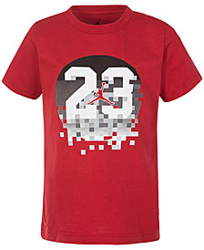Jordan 23-Print Cotton T-Shirt, Big Boys