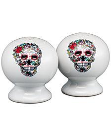 Fiesta Skull and Vine Sugar Salt & Pepper Set