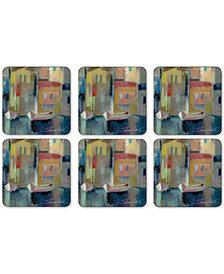 Pimpernel Evening Port Set of 6 Coasters