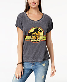 Freeze 24-7 Juniors' Jurassic World Graphic-Print T-Shirt