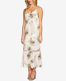 CeCe Printed Maxi Dress