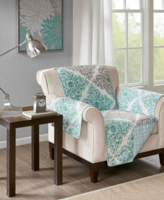 Claire Reversible Printed Armchair Protector