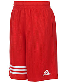 adidas Big Boys Youth Defender Shorts