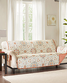 Madison Park Tissa Reversible Printed Sofa Protector