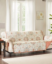 Madison Park Tissa Reversible Printed Furniture Protectors