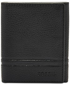Men's Wilder Leather Tri-Fold Wallet