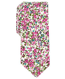 Bar III Men's Panjin Floral Skinny Tie, Created for Macy's