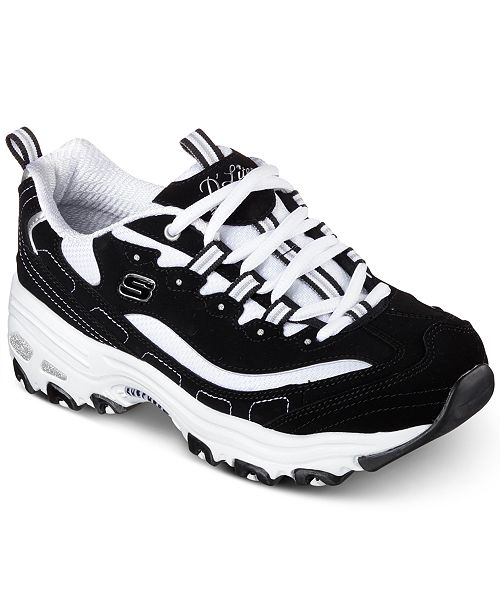 ... Skechers Women s D Lites - Biggest Fan Walking Sneakers from Finish ... 3a99291e0e
