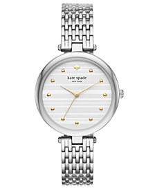 kate spade new york Women's Varick Stainless Steel Bracelet Watch 36mm