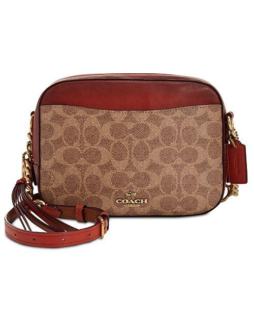 442737090250 COACH Signature Camera Small Bag   Reviews - Handbags   Accessories ...
