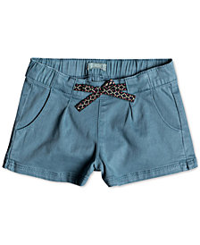 Roxy My Heart Skips Shorts, Little Girls