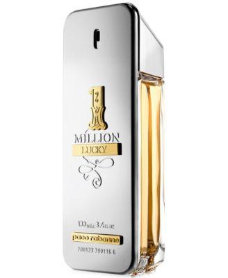 Men's 1 Million Lucky Eau de Toilette Spray, 3.4-oz
