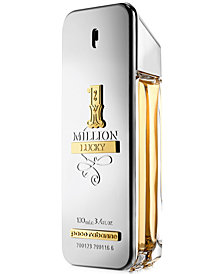 Paco Rabanne Men's 1 Million Lucky Eau de Toilette Spray, 3.4-oz, Created for Macy's