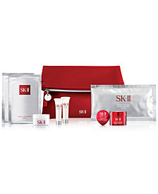 Receive a complimentary SK-ll Miracle Pitera Set with any $750 SK-II purchase (9 pc gift)!