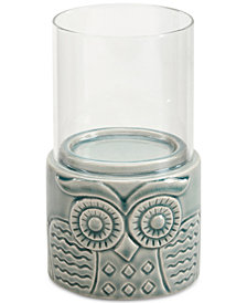 Madison Park Meera Ceramic Candle Holder Small