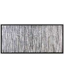 Snowfall Modern Landscape Wall Art
