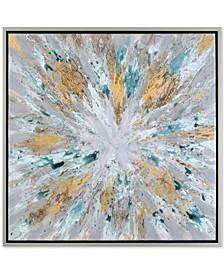 Exploding Star Modern Abstract Wall Art