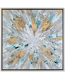 Uttermost Exploding Star Modern Abstract Wall Art