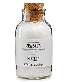 Martha Stewart Collection Mediterranean Sea Salt, Created for Macy's