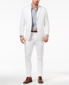 Lauren Ralph Lauren Men's Classic-Fit Ultraflex Stretch Solid Linen Suit Separates