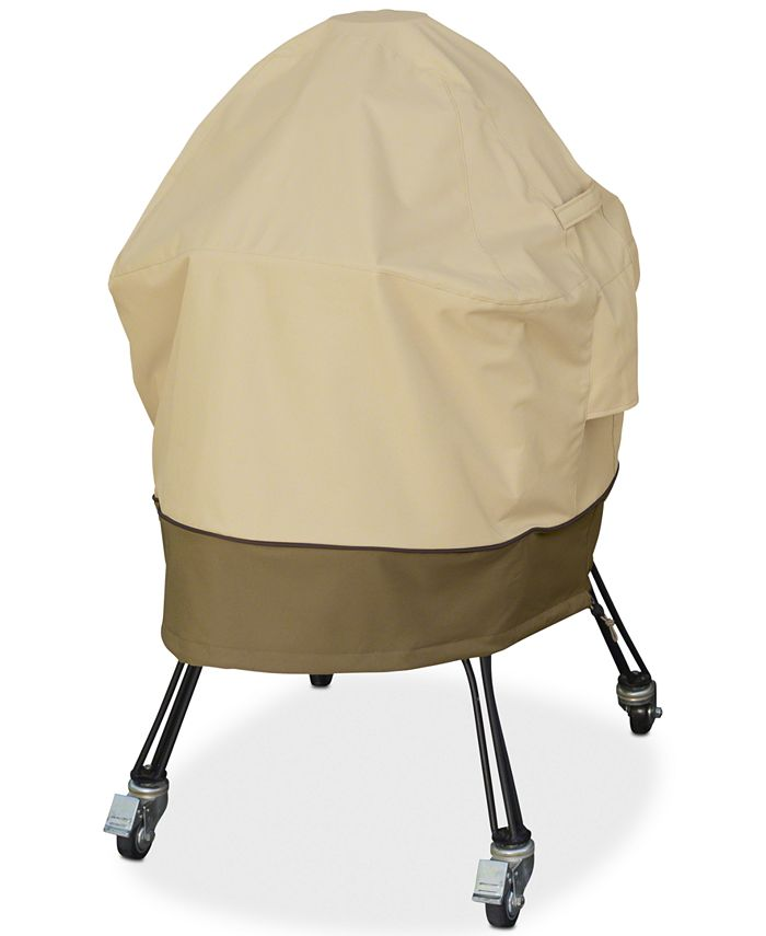 Classic Accessories - Large Kamado Grill Cover, Quick Ship