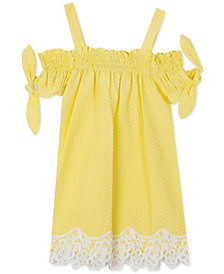 Rare Editions Baby Girls Seersucker Dress