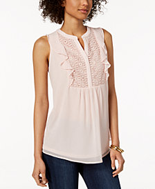 Charter Club Ruffled Top, Created for Macy's