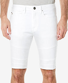 Buffalo David Bitton Men's Parker-X White Denim Shorts
