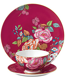 Wedgwood Tea Garden Raspberry 3-Pc. Set